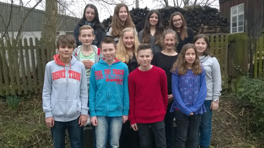 Konfirmandengruppe 2015/16